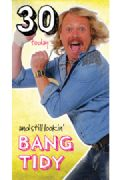 Keith Lemon 30th Birthday Card